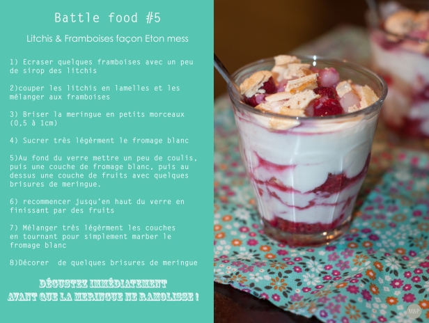BF 5 recette
